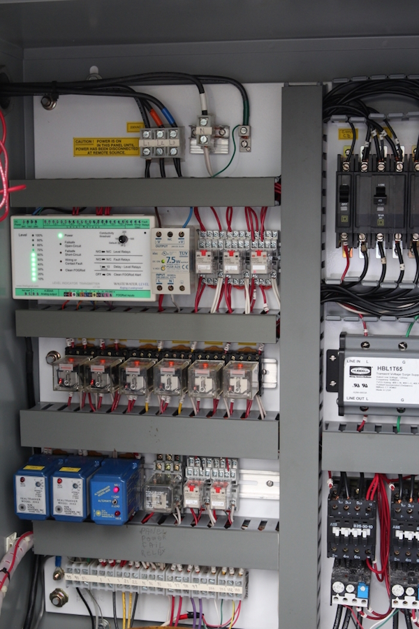 PA LIT in complete panel 600px wastewater level unbreakable fogrod easy install, no lift station control panel wiring diagram at readyjetset.co